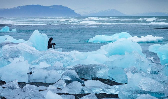 Потеря арктического морского льда влияет на реактивный поток
