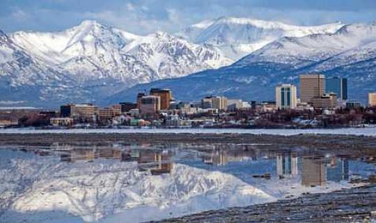 Anchorage достигает 90 степени впервые в истории