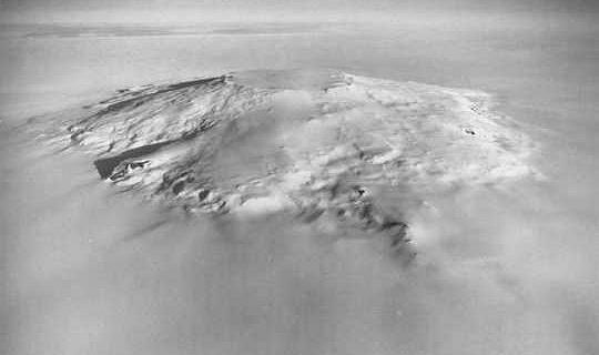 Два столетия непрерывного извержения вулкана, возможно, спровоцировали конец ледникового периода