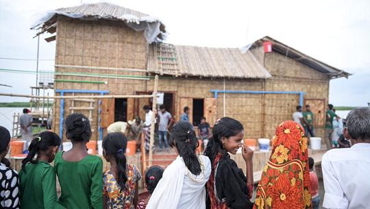 Hur flytande bostäder kommer att hjälpa människor i översvämmade länder