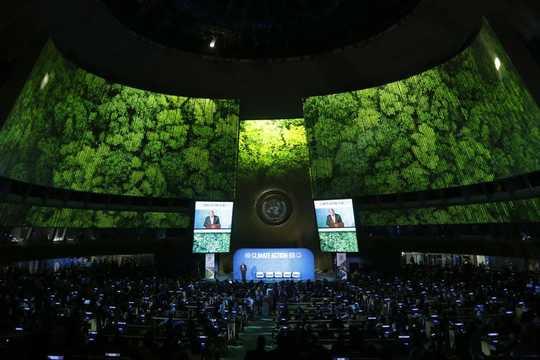 هل يمكن أن تنجح اتفاقية باريس بشأن تغير المناخ بدون الولايات المتحدة؟