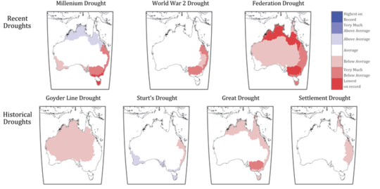 Kematian Australia baru-baru ini mungkin menjadi yang paling teruk dalam tahun-tahun 800