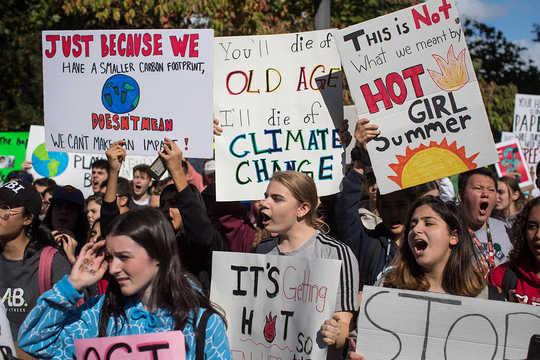 Hier is wat Behalwe tegnologie ons sal red van klimaatsverandering?