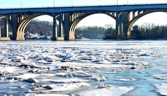 Ice On Earth's Rivers Is In Rapid Decline