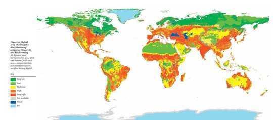 IPCC的土地報告顯示了以石油而非土壤為基礎的農業問題