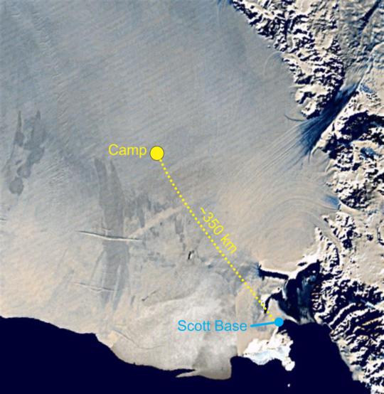 İklim Bilimcileri Antarktika'nın En Büyük Buz Rafının Altındaki Saklı Okyanusu Keşfediyor