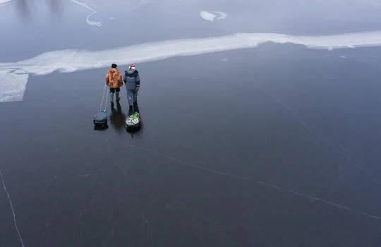 احتیاط برتیں: موسمیاتی تبدیلی کے ساتھ برف کی پتلیوں کے ساتھ موسم سرما میں ڈوبنے میں اضافہ ہوسکتا ہے