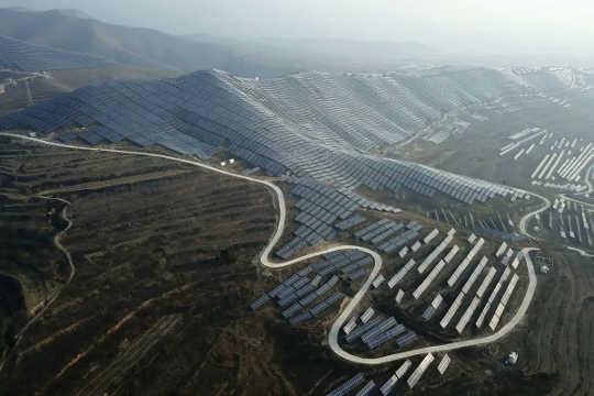 Array surya di Cina