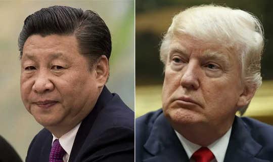 Presiden Xi dan Presiden Trump