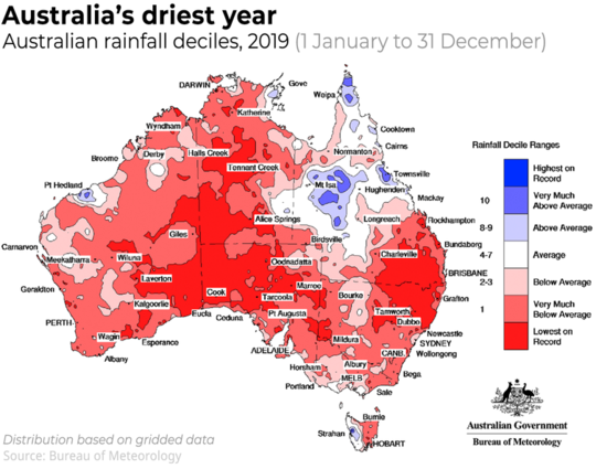 Weather Bureau Says Hottest, Driest Year On Record Led To Extreme Bushfire Season