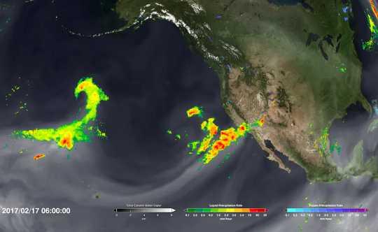 Les tempêtes fluviales atmosphériques entraînent des inondations coûteuses - et le changement climatique les rend plus fortes