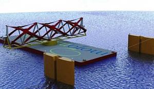 Revolutionärer Zaun wird die Macht des Meeres einfangen