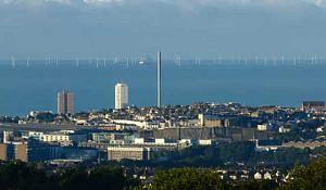 영국은 이제 석탄처럼 풍력에서 2 배의 전기를 생산합니다