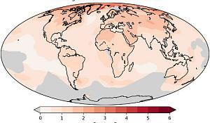 地球温暖化はあなたが住んでいる地域によって大きく異なる