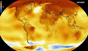 Був рекордний сплеск температури від 2014 до 2016