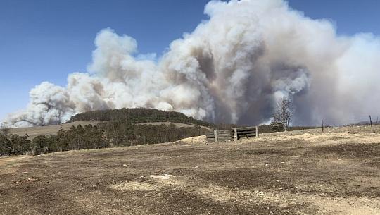 Як парникові гази приводять до спалаху австралії