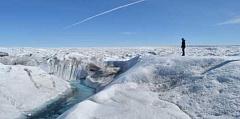 Hujan musim dingin Greenland mencairkan icecap lebih cepat
