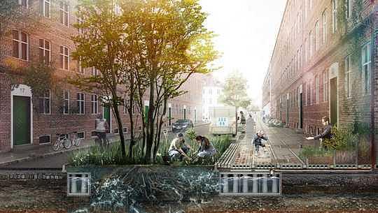 洪水のための設計:都市はどのように水のための部屋を作ることができる