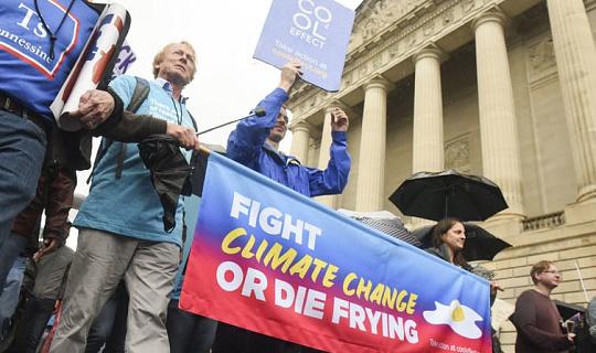 Daar is 'n bewys dat klimaatsaktivisme die openbare mening in die VS kan laat beweeg
