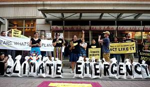 Canadezen ondersteunen bij elke rit Klimaatactie