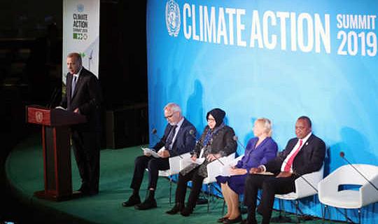 قمة الأمم المتحدة للعمل المناخي لم تعد مكونًا رئيسيًا: العمل المناخي