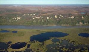 Upptining Permafrost Triggering Tusentals Jordskred Över Arktis