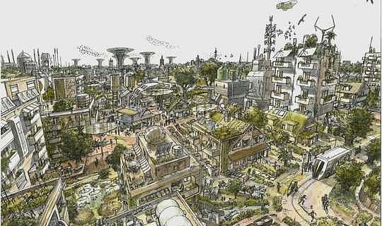 الشوارع الخالية من السيارات المهددة بالانقراض تعرض إمكانية مستقبل جميل وآمن وخضراء