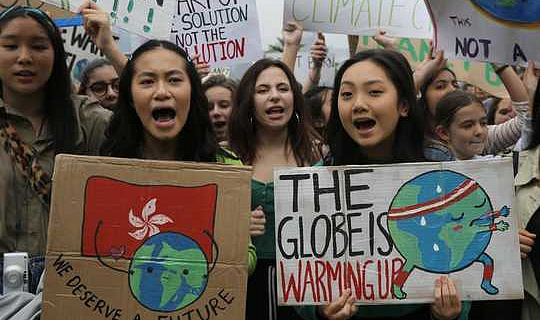 حركة المناخ الشبابي تضع الأخلاقيات في مركز النقاش العالمي