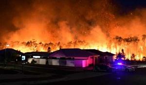 Ilmastonmuutos tuo uuden maailman Bushfires