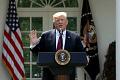 """""""Straight Out of Orwell"""": Medan slashing Klimatförordningar, Trump Planerar Tal Touting Hans """"Miljö Ledarskap"""""""