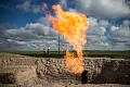 日常的なガスフレアリングは無駄が多く、汚染され、十分な測定ができない