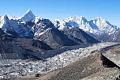到2100年,喜马拉雅山冰川冰的三分之二可能消失