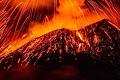آتش فشاں اثر و رسوخ آب و ہوا اور ان کے اخراج کا موازنہ ہمارے تیار کردہ چیزوں سے کیسے ہوتا ہے