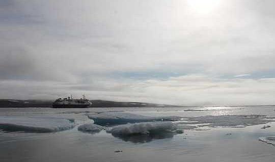 Während Schiffe mit dem Klimawandel nach Norden ziehen, macht ihr Lärm dem Kabeljau Angst