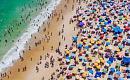 2100 년까지 해수면 상승으로 모래 해변이 사라질 수 있음