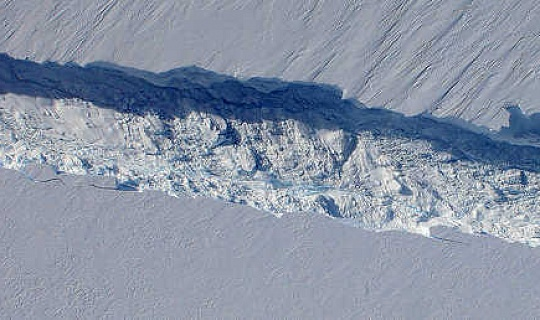 Наскільки близький крижаний захід Західного Антарктики до точки перекидання?