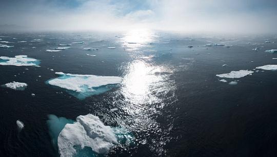 북극 얼음 용해로 해수면 위험이 높아짐