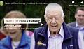 Georgian kaupunki saa puolet sähköstään presidentti Jimmy Carterin aurinkotilalta