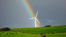 Hoekom windturbines kan groeiende toestande beter vir gewasse
