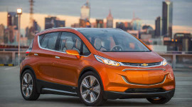 General Motors is developing the all-electric 2017 Chevrolet Bolt, which is designed to have a driving range of about 200 miles. General Motors