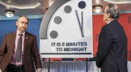 Why The Doomsday Clock Puts World Risk At 65-year High