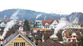 مواقد حرق الخشب اللوم لتلوث الهواء في فصل الشتاء والتهديدات الصحية