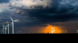 Vir buitelandse windturbines is die grootte van sake
