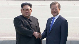 应对气候变化可能使北韩和韩国更加紧密,有助于稳定该地区