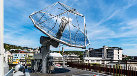 This Solar Refinery Turns Light And Air Into Liquid Fuel