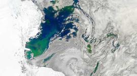 अंटार्कटिका से ऊपर की हवा अचानक गर्म हो रही है