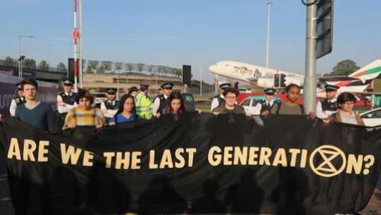 Extinction Rebellion: Avbrott och arresteringar kan ge social förändring