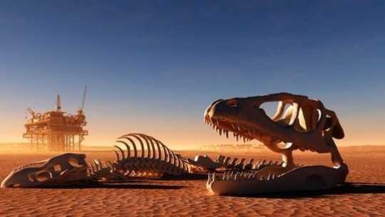 Dinosaurernas utrotning - vi kan ändå gå på samma sätt