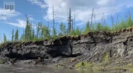 Report Shows Stunning And Dramatic Scenes Of Thawing Permafrost In Siberia That Leaves Millions On Unstable Ground