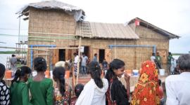 Wie schwimmende Häuser Menschen in hochwassergefährdeten Ländern helfen